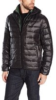Tommy Hilfiger Men's Ultra Loft Insulated Packable Jacket with Contrast Bib and Hood