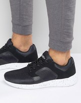 Pull&bear Trainers In Black With Flecked Sole