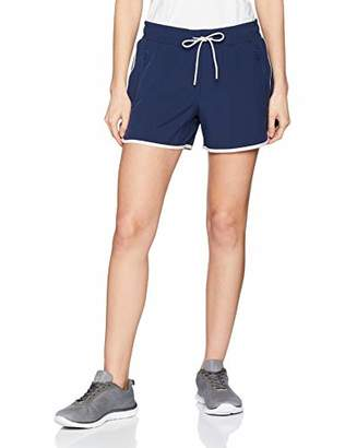 Esprit Women's Wv Sl Sports Shorts, (Black 001), (Size: Medium)