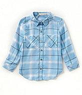 Copper Key Little Girls 4-6X Button-Down Plaid Shirt