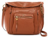 Elliott Lucca Vivien Leather Foldover Hobo Bag