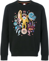 Paul Smith embroidered sweatshirt - men - Cotton - S
