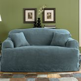 Sure Fit Sure FitTM Faux-Suede T-Cushion Loveseat Slipcover