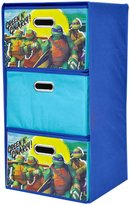 Nickelodeon Ninja Turtles Collapsible 3 Pc Cabinets