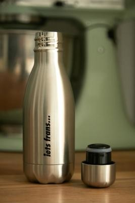 Chilly's,Iets Frans... Chilly's iets frans. 260ml Stainless Steel Water Bottle - Silver ALL at Urban Outfitters