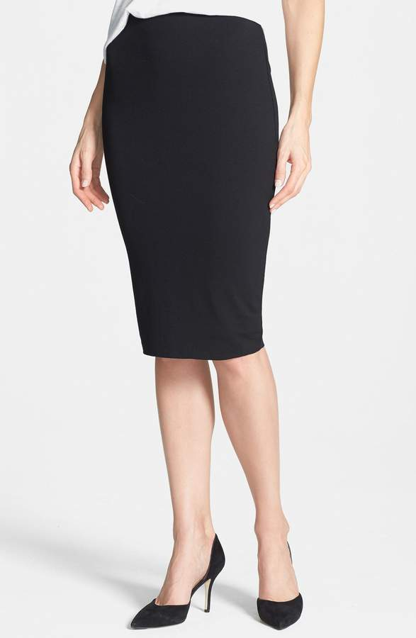 Vince Camuto Stretch Knit Midi Tube Skirt
