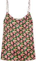 Stella McCartney Ellie Leaping Floral-Print Stretch-Silk Camisole