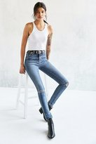 BDG Twig High-Rise Skinny Jean - Rinsed Denim Slash