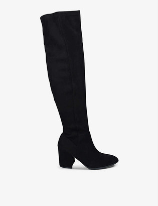 Kg Kurt Geiger Tell suede knee-high boots