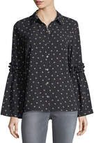 Waverly Grey Kyle Button-Front Blouse
