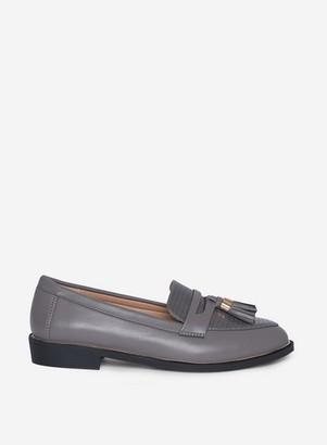 Dorothy Perkins Womens Grey 'Landmark' Loafer, Grey