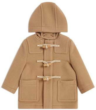 Burberry Kids Wool Duffle Coat