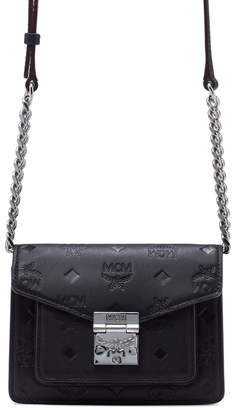 MCM Patricia Logo Leather Convertible Belt Bag