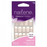 Nailene French Finish Perfect Fit Fuzzy Pink 1 Kit