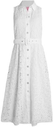 Kate Spade Leaf Lace Sleeveless Dress