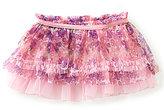 Baby Starters Baby Girls 3-12 Months Printed Ruffle Tutu Skirt