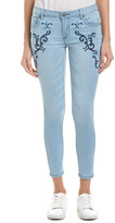 Romeo & Juliet Couture Embroidered Denim Pant
