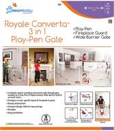 Dream Baby Dreambaby Royal Converta 3-in-1 Playpen