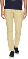 Etro Linen Solid Slim Jeans