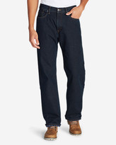 Eddie Bauer Men's Flannel-Lined Jeans - Relaxed Fit