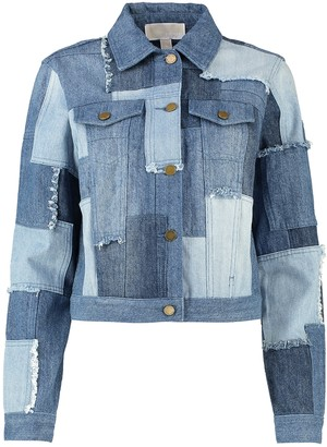 MICHAEL Michael Kors Patchwork Denim Jacket