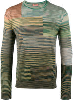 Missoni multi stripe knitted sweater