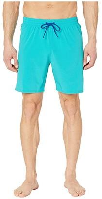 Nike 7 Essential Vital Volley Shorts (Black) Men's Swimwear