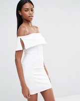 Missguided Bardot Bodycon Mini Dress