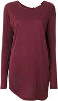 Humanoid oversized pocket T-shirt - women - Cotton/Wool - S