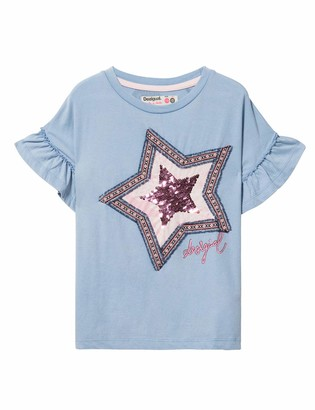 Desigual Girl's Knit T-Shirt Short Sleeve (ts_sprinfiel)
