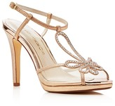 Caparros Claudia Metallic Platform High Heel Sandals