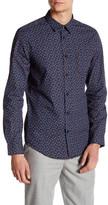 Ben Sherman Micro-Floral Long Sleeve Slim Fit Shirt