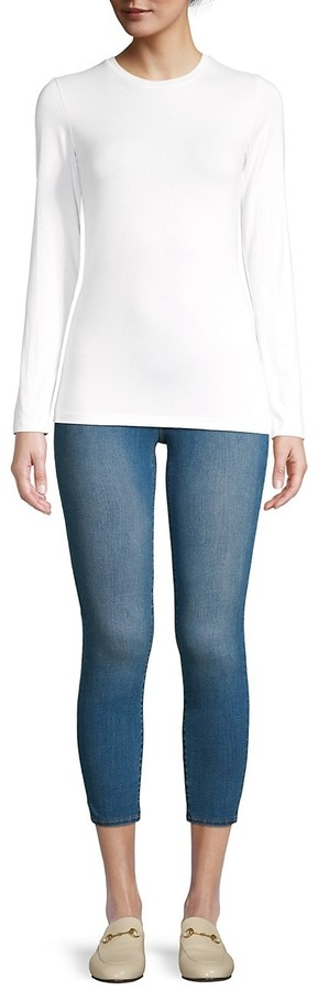 Thumbnail for your product : L'Agence Long-Sleeve Tee