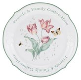 Lenox Butterfly Meadow Friends & Family Gather Here Dessert Platter