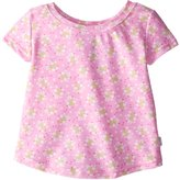 I Play I-Play Baby Girls' Cap Sleeve Rashguard Classic Light, Pink, 6 12 Months