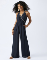 Accessorize Plain Embroidered Jumpsuit