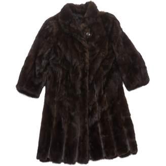 N. Vintage (Unsigned) Vintage (unsigned) \N Brown Fur Coats