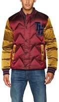 Tommy Hilfiger Men's Thdm Down Varsity 35 Bomber Jacket
