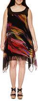 Robbie Bee Sleeveless Sheath Dress-Plus