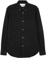 Our Legacy 1950's Black Linen Blend Oxford Shirt