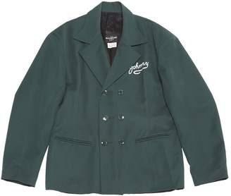 John Richmond Green Wool Jackets