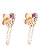 Melissa Joy Manning Amethyst Ear Chains