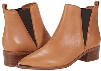 Marc Fisher Yale (Medium Natural Leather) Women's Dress Pull-on Boots