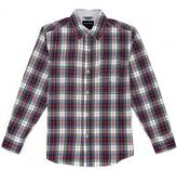 Nautica Toddler Boys' Plaid Button-Down Shirt (2T-3T)