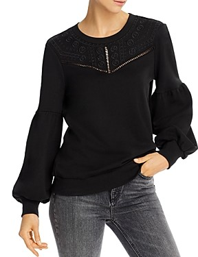 Parker Normani Embroidered Sweatshirt