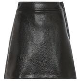 Miu Miu Faux Leather Skirt