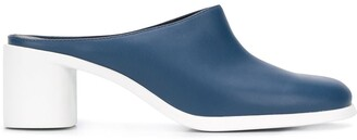 Camper Meda 60mm two-tone mules