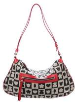 Tous Leather-Trimmed Hobo