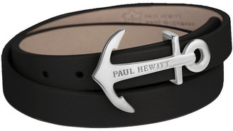 Paul Hewitt PH-WB-S-24S North Bound Leather Bracelet SS /