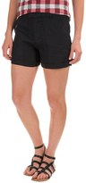 Jones New York Jones & Co Fitted Linen Shorts (For Women)